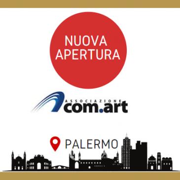 Palermo: apre un nuovo centro di formazione Com.Art.