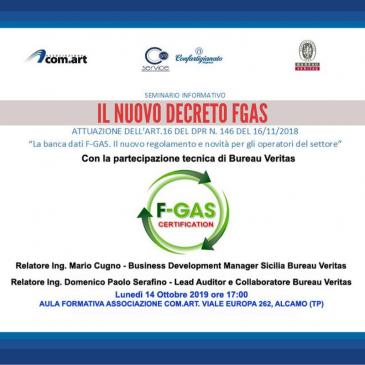 Seminario informativo Gratuito sul nuovo decreto FGAS