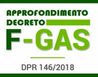 APPROFONDIMENTO DECRETO F-GAS:  SCHEMA ACCREDITAMENTO E LA BANCA DATI – OBBLIGO CERTIFICATO PERSONA CATEGORIA 1 PER CERTIFICARE L'AZIENDA